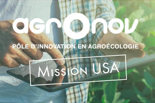 Le programme d'accompagnement lancé par AgrOnov vise  à favoriser l'implantation des startups françaises de l'AgTech sur le marché nord-américain. Crédit. D.R.