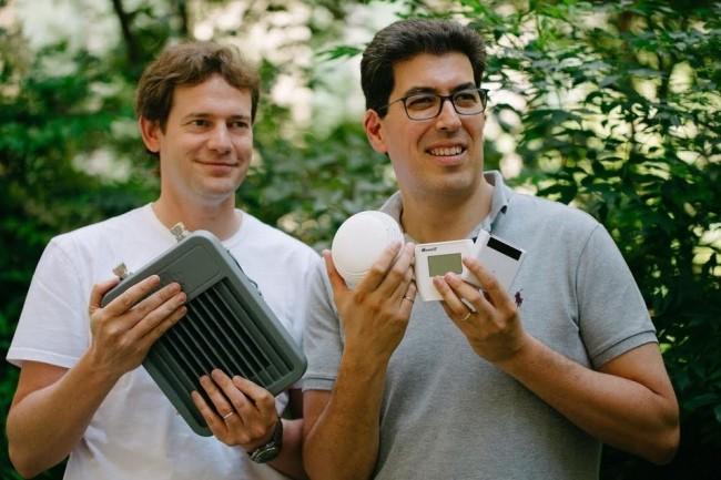 Depuis sa création en 2010 par Olivier Hersent et Nicolas Jordan,  Actility a réalisé 4 levées de fonds. Crédit: D.R.