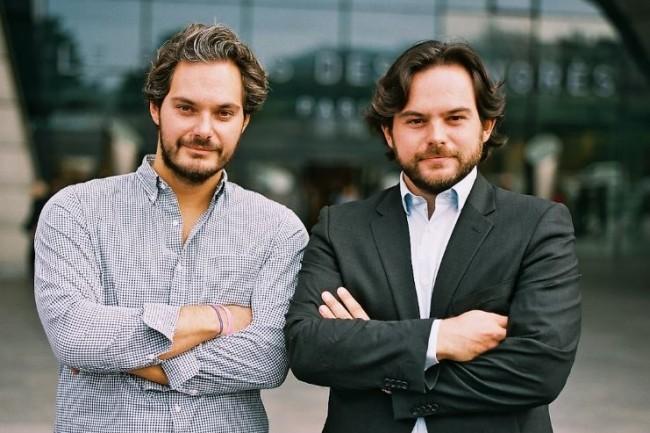 Benjamin Chouraqui (à gauche) et Lionel Chouraqui sont respectivement directeur général et président de Pitchy. (crédit : D.R.)