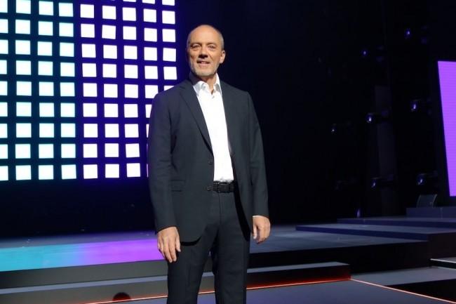 Le PDG d'Orange Stéphane Richard pour son cinquième événement Show Hello. (Crédit S.L.)