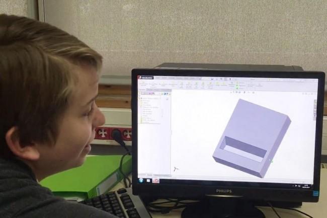 Le projet pédagogique 3Défi plonge des collégiens de l'Hexagone dans l'univers de l'impression 3D et de la création d'entreprises. (Crédit : D.R.)