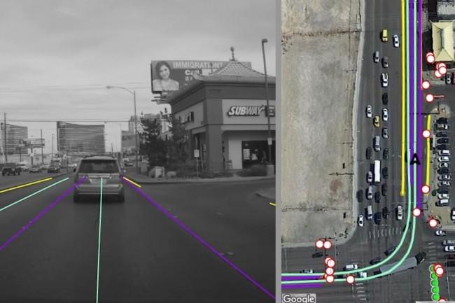 La plateforme REM de Mobileye permet à BMW, Volkswagen et maintenant Nissan de partager des données de cartographie routière temps réel utiles pour la conduite autonome. (crédit : Mobileye)