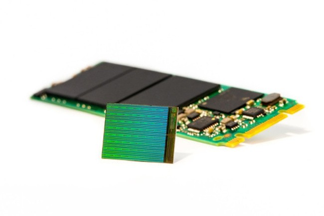L'offre de mémoire flash 3D NAND restera tendue, d'autant qu'Apple mobilise une bonne partie de la demande pour équiper son prochain iPhone. (crédit Micron)
