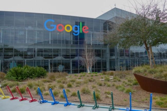 Un bâtiment au siège de Google à Mountain View en Californie, le 15 février 2017. ( Credit : Magdalena Petrova)