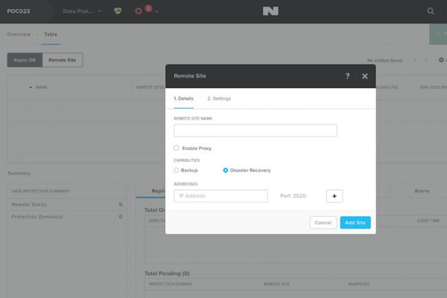 Avec l'interface de management Prism, il nous aura suffit de moins d'une heure pour créer un cluster, lancer des VM équipé de Windows Server, créer des images de sauvegarde et mettre en place une politique de snapshot et de PRA.