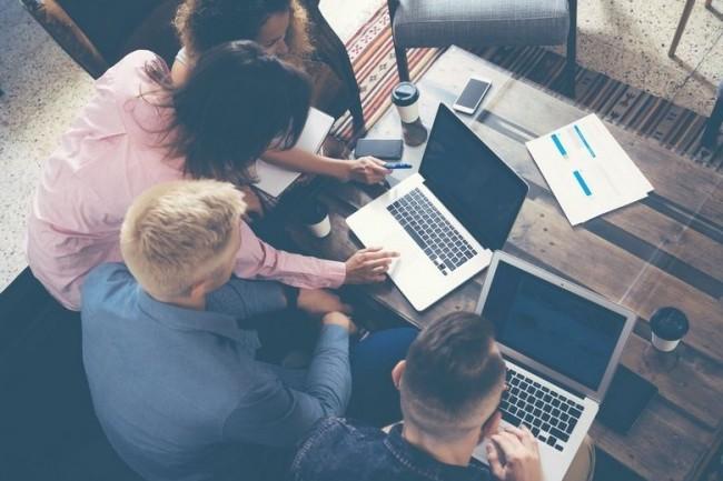 Installée à Cergy,  la Coding factory enseigne les bases du développement front-end et back-end ainsi que les méthodes de gestion de projets agile. (crédit. D.R.)