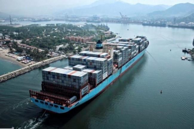 IBM prépare avec l'armateur Maersk une solution blockchain qui facilitera le suivi des documents accompagnant le transport de dizaines de millions de containers à travers le monde. (crédit : Computerworld/Maersk)