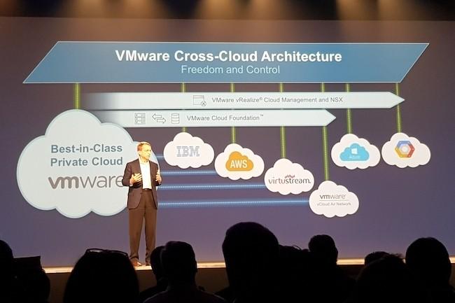 Pour réussir à fédérer les clouds, Pat Gelsing , le CEO de VMware, compte sur les développeurs et l'apport de Cloud Foundry. (Crédit : S.L.)