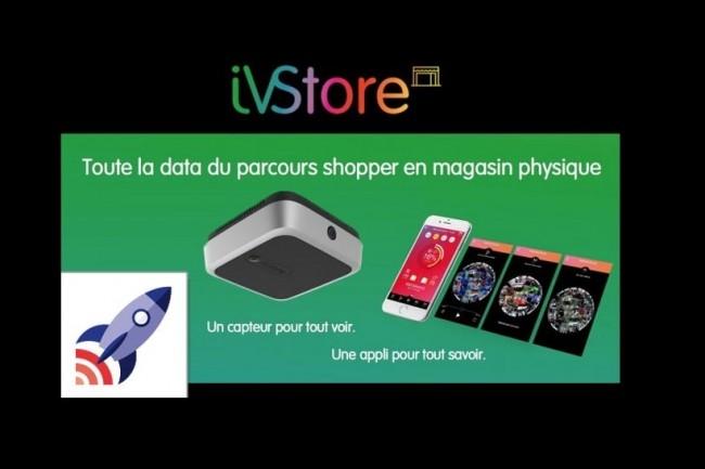 iVStore d'IVS Intelligent Video Software donne de la visibilité sur le parcours client en magasin. (crédit : D.R.)