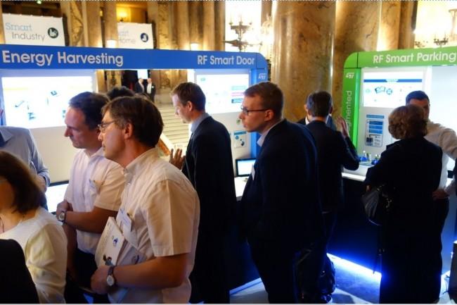C'est dans le cadre du Palais Garnier à Paris que STMicroelectronics a organisé en début de semaine son 9ème Technoday. (crédit : LMI)