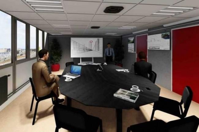 La réalité virtuelle permet de visiter de futurs aménagements pour mieux en piloter la réalisation. (crédit : D.R.)