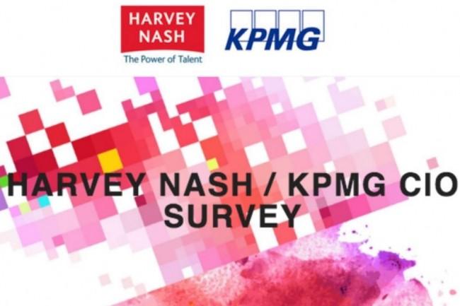 Pour sa 19ème édition, l'étude Harvey Nash / KPMG a interrogé 4498 DSI de 86 pays. (crédit : D.R.)