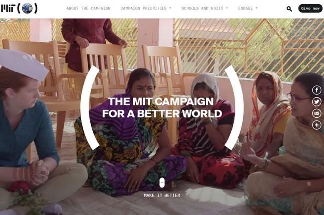 Le MIT pourrait utiliser ce don de 140 M$ pour financer sa « Campain for a better World ». (crédit : D.R.)