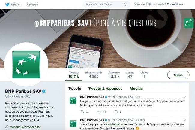 Les �quipes informatiques de BNP Paribas ont d� intervenir ce matin sur leurs �quipements pour r�tablir l'acc�s aux services de banque en ligne. (cr�dit : D.R.)