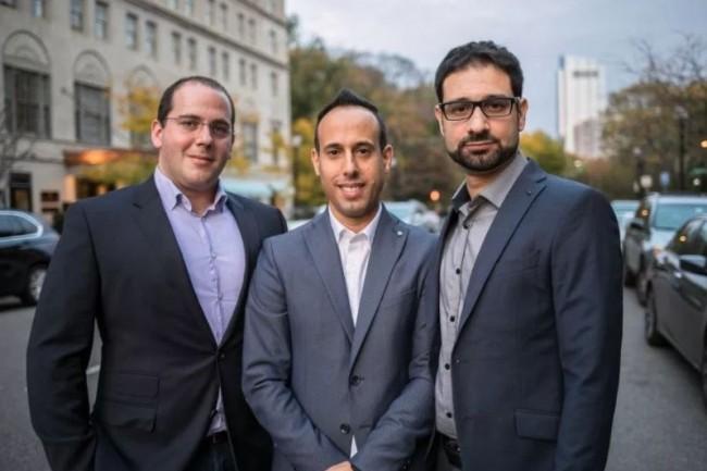 Cybereason a été fondée (de gauche à droite) par Yonatan Striem-Amit, Lior Div et Yossi Naar. (crédit : Cybereason)