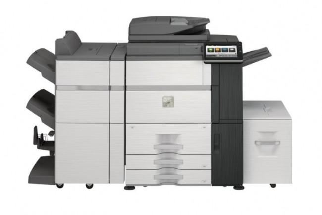 Le MFP A3 Sharp MX6580NEU imprime � la vitesse de 65 PPM et scan � celle de 200 images par minutes.