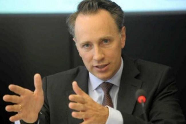 Le nouveau patron d'Axa, Thomas Buberl, ne jure que par le numérique : son entreprise arrive en tête du CAC 40 en la matière selon Forbes. (crédit : D.R.)