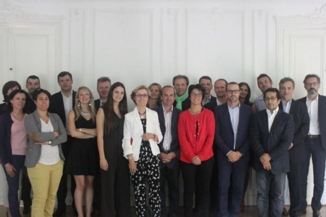 Photo de famille du jury de France Entreprise Digital 2017 réuni - presque - au grand complet vendredi 16 juin 2017 dans les locaux de Groupe Référence, partenaire de l'événement, à Paris. (crédit : IT News Info)