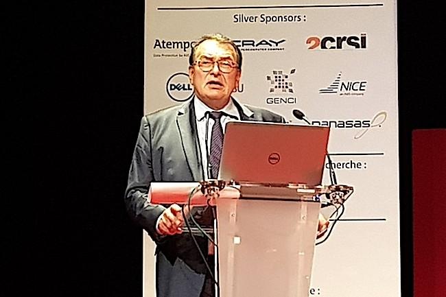Gérard Roucairol, président de Teratec et historique Bull, a annoncé lors de la dernière édition du Forum Teratec qu'il ne rempilerait pas pour un nouveau mandat. (Crédit S.L.)