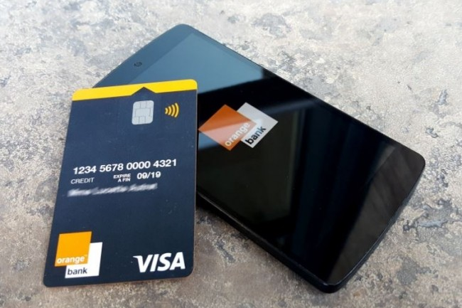 Les premiers clients d'Orange Bank devront patienter en septembre pour ouvrir un compte. (crédit : Orange)
