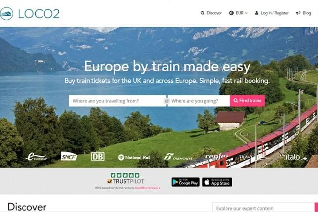 Le site anglais Loco2 permet d'agréger les trajets de 37 compagnies à travers 25 pays.