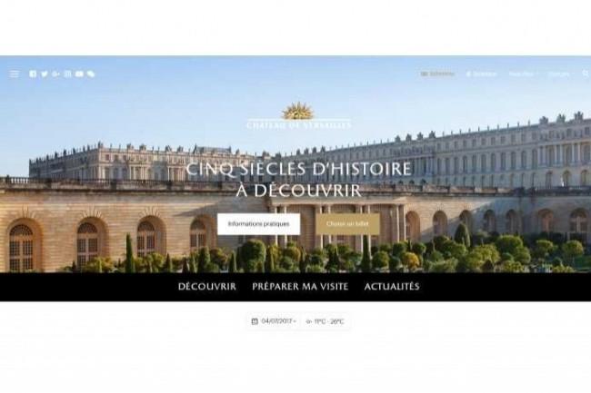 Le nouveau site web du Château de Versailles a obtenu le Grand Prix aux Drupagora d'Or 2017