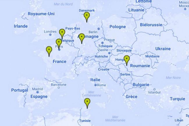 Helpline est implanté en France, en Allemagne, en Roumanie et en Tunisie. (Crédit D.R.)