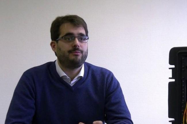 Jean-François Morizur, PDG et co-fondateur de Cailabs. (crédit : D.R.)