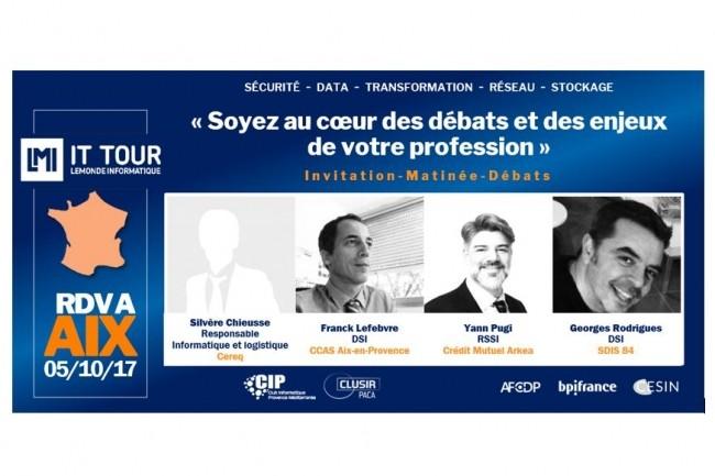 L'IT Tour à Aix va se dérouler au Château de la Pioline le 5 octobre 2017. (crédit : LMI)