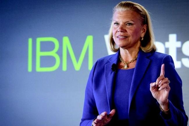 « Au second trimestre nous avons renforcé notre position de fournisseur stratégique de technologies cloud pour les entreprises », a déclaré Ginni Rometty, la CEO d'IBM. Crédit photo : D.R.