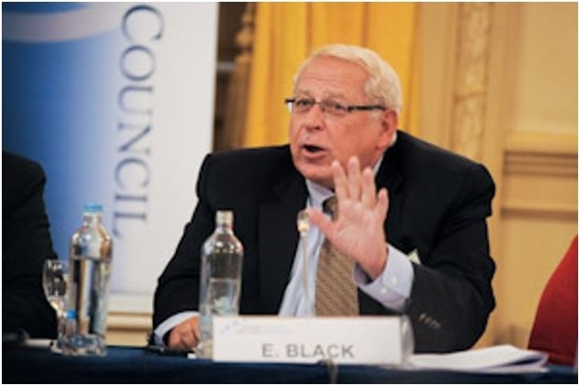 Edward Black, président et CEO de la CCIA, association de l'industrie informatique et des communications (crédit : D.R.)