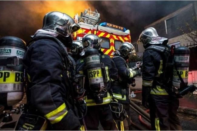 Les Sapeurs Pompiers de Paris comptent 8 842 boîtes emails à sécuriser (photo S. Borel BSPP).