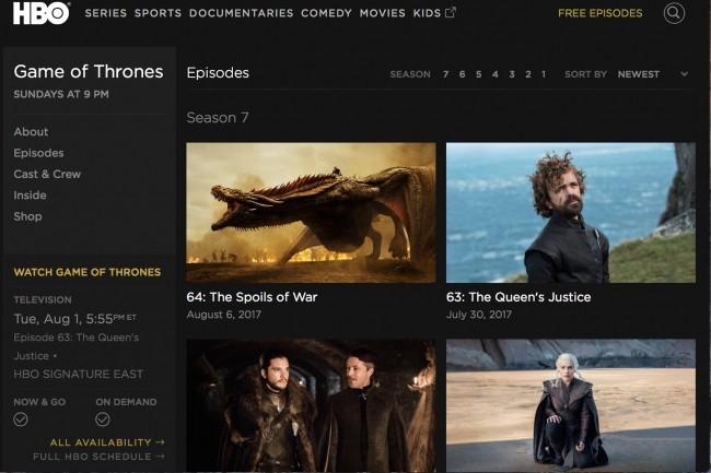 Dans les données qui viennent d'être dérobées à HBO, certaines semblent liées à la série Game of Throne.