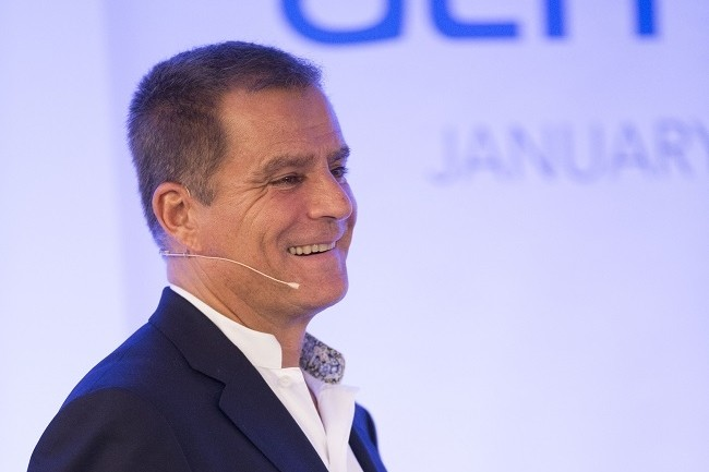 Dominique Cerutti, le PDG d'Altran, compte sur l'acquisition d'IRM pour renforcer la proposition de valeur de l'ESN dans la transformation numérique. (Crédit Wikipédia/Thibaud Courtelier)