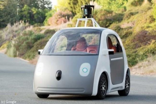 La Google Car est l'archétype du véhicule autonome. (Crédit : D.R.)