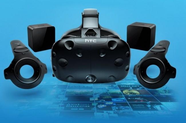 HTC propose maintenant son casque Vive à 699 € avec un mois d'essai gratuit sur l'abonnement Viveport.