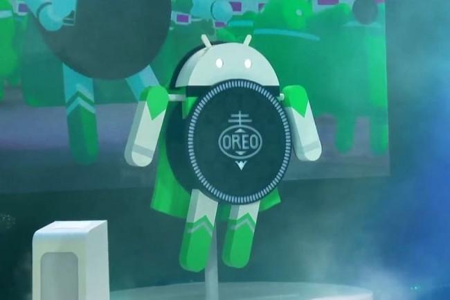 Après KitKat, Google opte pour la seconde fois avec Oreo pour une marque de confiserie pour désigner la version de son OS mobile. (crédit : IDG Worldwide)