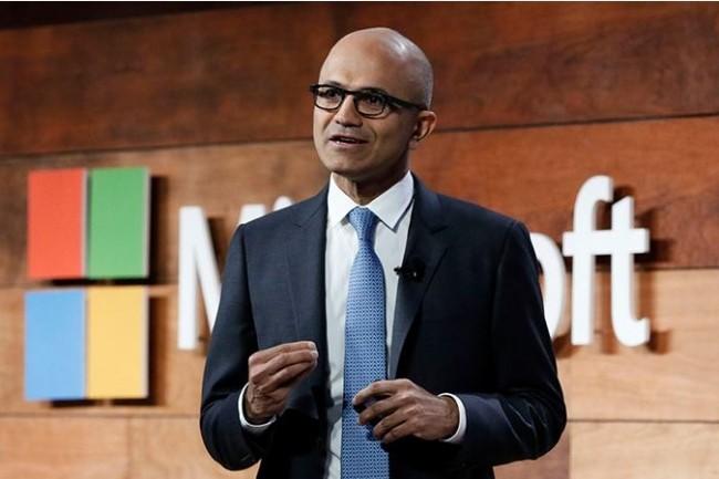 Satya Nadella, CEO de Microsoft, est attendu sur le prochain événement Ignite (25-29 septembre 2017, à Orlando) où sera lancé la version 1709 de Windows Server 2016. (crédit : D.R.)