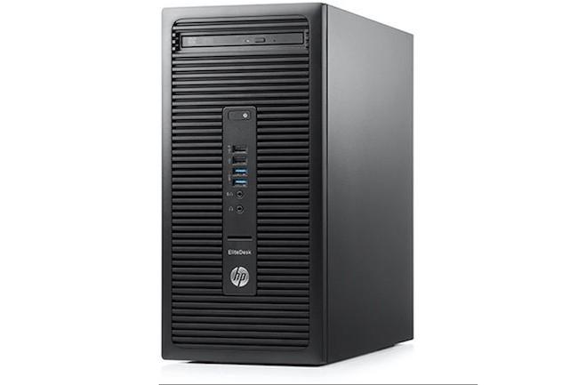 Le HP EliteDesk 705 arrivera prochainement équipé de processeurs AMD Ryzen 7 Pro. (Crédit photo : HP)