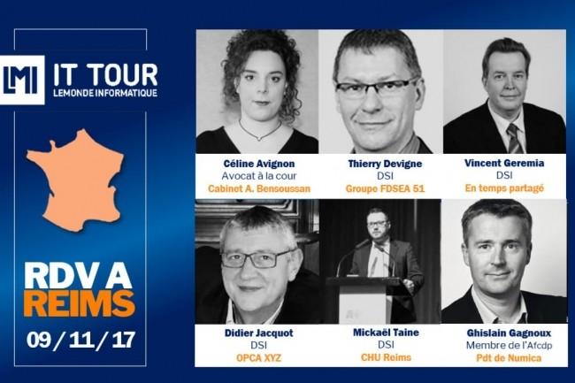 L'IT Tour à Reims va se dérouler à la CCI le 9 novembre 2017 avec un plateau d'interventions. (crédit : LMI)