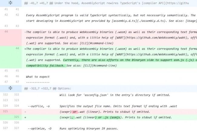 AssemblyScript compile TypeScript vers WebAssemblage. (Crédit D.R.)