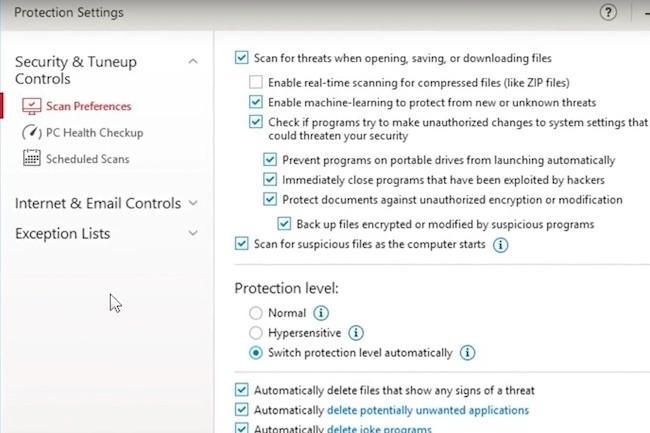 Comme chaque fin d'année, les éditeurs de sécurité, comme ici Trend Micro, commercialisent une mise à jour de leur suite de sécurité.