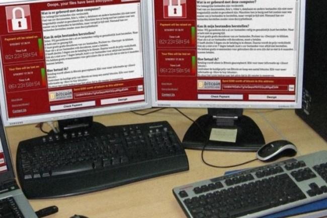 Pour 34% des ETI et les PME françaises le pire qui puisse arriver suite à un ransomware est un arrêt de l'activité. (crédit photo : D.R.)