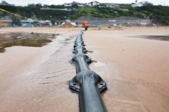 Le projet de cable transatlantique Marea. Crédit. D.R