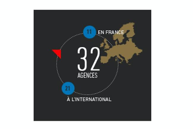 Suite aux rachats qu'elle a effectués, SQLI réalise désormais 30% de son chiffre d'affaires à l'international. (Illustration : D.R.)