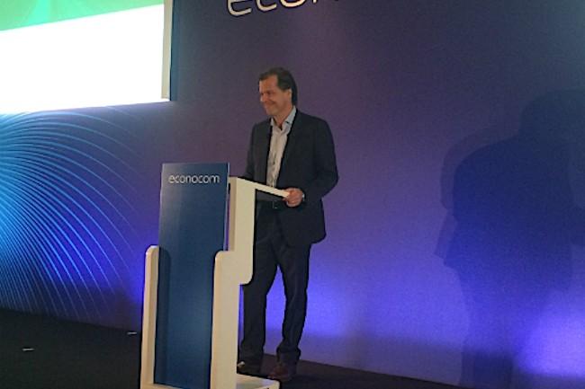 Directeur des opérations d'Econocom depuis mai dernier, Robert Bouchard, le fils du fondateur, est chargé de conduire le plan « e for excellence ».