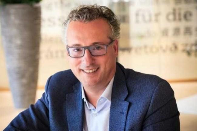 DSI groupe de Veolia, Jean-Christophe Laissy a fait du full cloud public l'axe de sa stratégie. (crédit : Alexia Perchant)