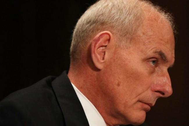John Kelly devait remettre de l'ordre, mais le secrétaire général de la Maison Blanche est lui-même pris en défaut. (crédit : D.R.)