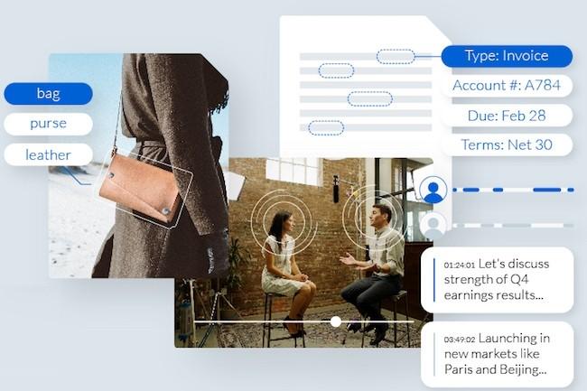 La fonctionnalit� de reconnaissance d'image utilise l'apprentissage machine pour traiter plus rapidement les documents. (cr�dit : D.R.)
