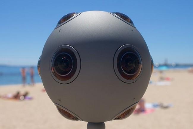 Le prix de la caméra immersive Ozo de Nokia est tombé à 25 000 $ contre 45 000 $ en avril dernier. (crédit : D.R.)